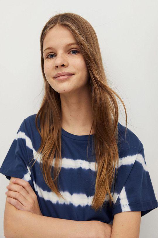 Mango Kids - T-shirt dziecięcy Matcha 100 % Bawełna