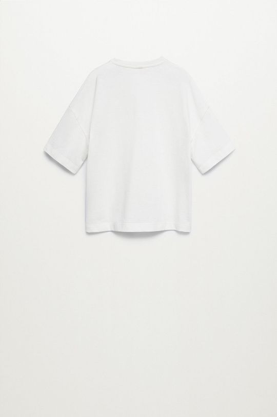 Mango Kids - T-shirt dziecięcy Ecol-I 116-164 cm 50 % Poliester z recyklingu, 50 % Bawełna z recyklingu