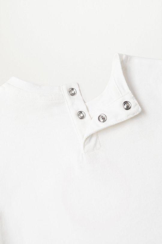 biały Mango Kids - T-shirt dziecięcy Solet 80-104 cm