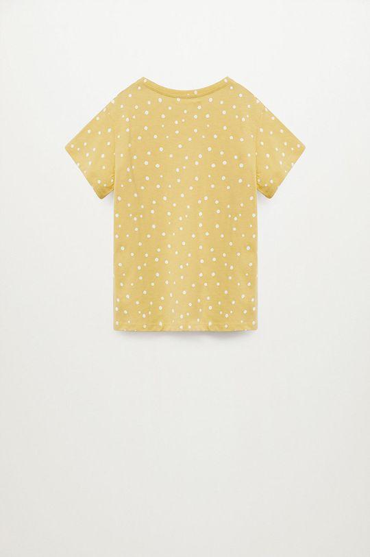 Mango Kids - T-shirt dziecięcy Mangofi-H 116-164 cm 100 % Bawełna organiczna