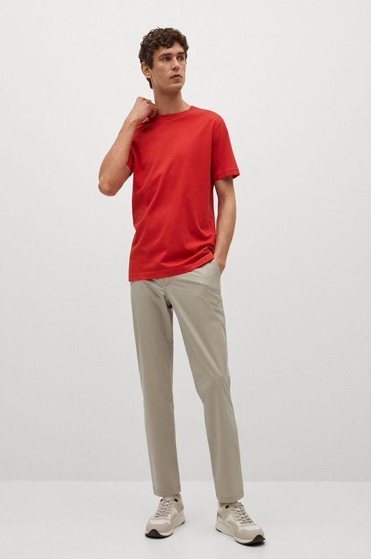 Mango Man - Tričko CHERLO červená
