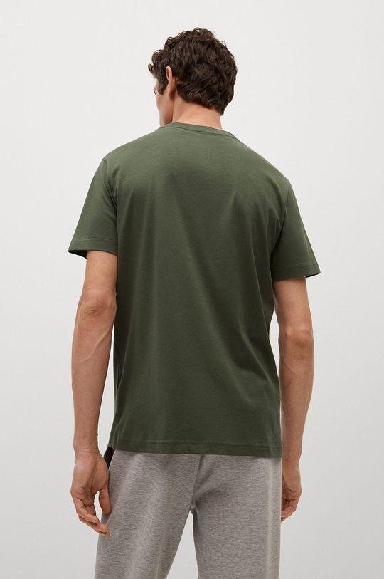 Mango Man - T-shirt CHERLO 100 % Bawełna organiczna