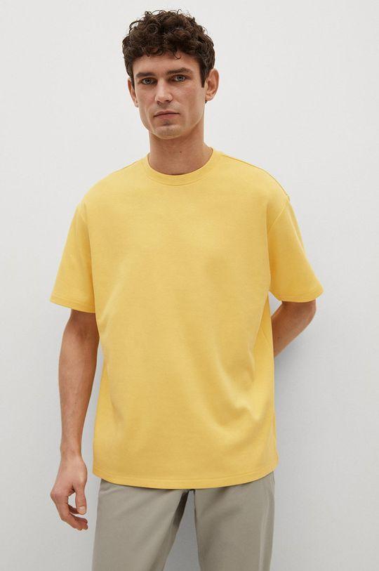 žlutá Mango Man - Tričko KIMI Pánský