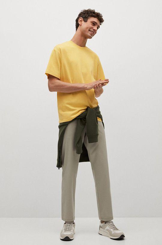 Mango Man - Tričko KIMI žlutá
