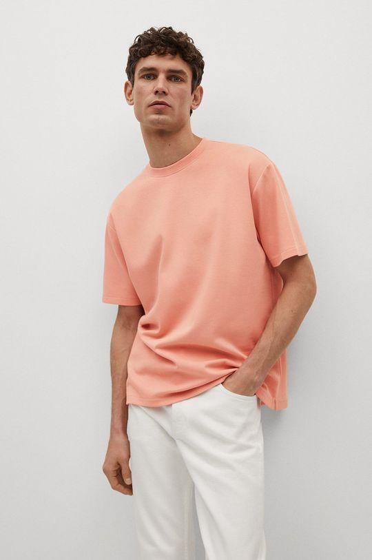 ružová Mango Man - Tričko KIMI Pánsky