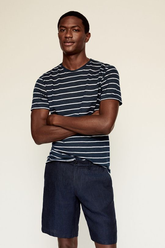 námořnická modř Mango Man - Tričko LIMAR Pánský