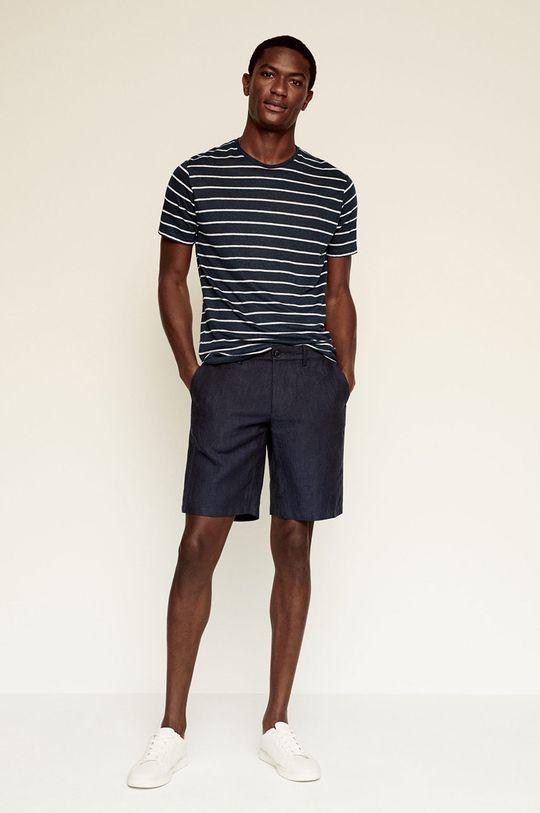 Mango Man - Tričko LIMAR námořnická modř
