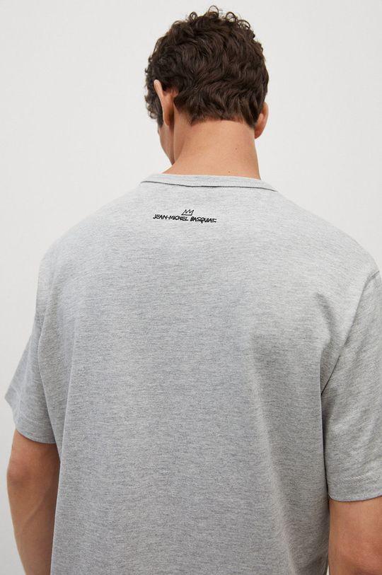 Mango Man - T-shirt Dispense 95 % Bawełna, 5 % Wiskoza