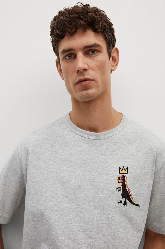 szary Mango Man - T-shirt Dispense