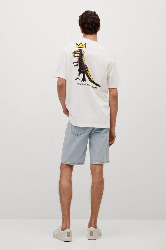 Mango Man - T-shirt Basquiat 100 % Bawełna