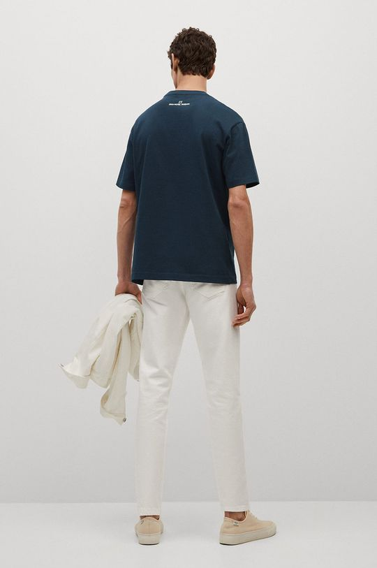 Mango Man - T-shirt Michel 100 % Bawełna
