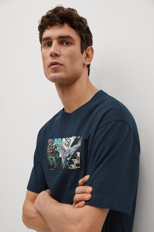 Mango Man - T-shirt Michel Męski