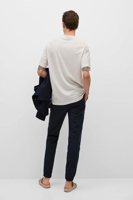 Mango Man - T-shirt Balls 43 % Poliamid, 57 % Wiskoza