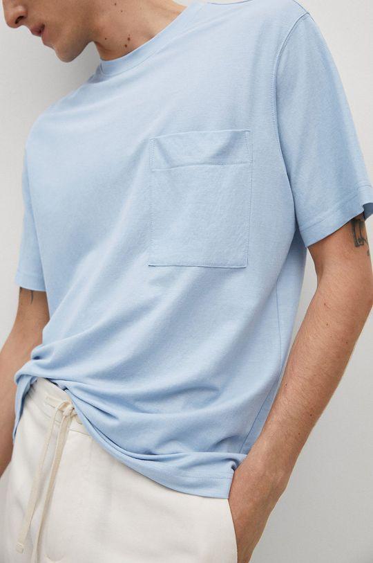 niebieski Mango Man - T-shirt Balls