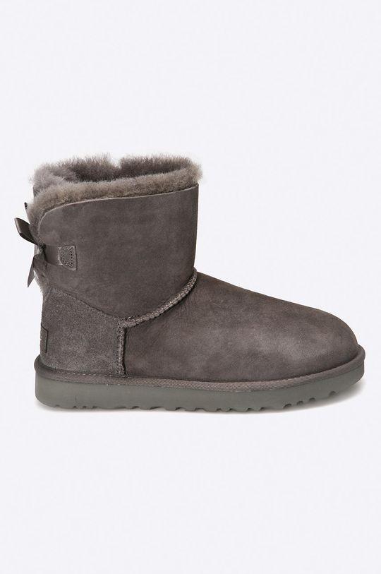 сив UGG - Обувки Mini Bailey Bow II Жіночий