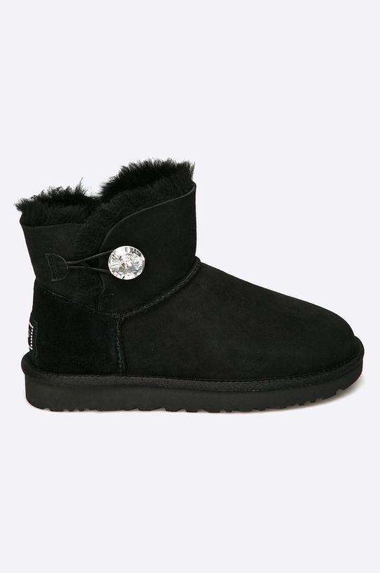 čierna UGG - Členkové topánky Bailey Button Dámsky