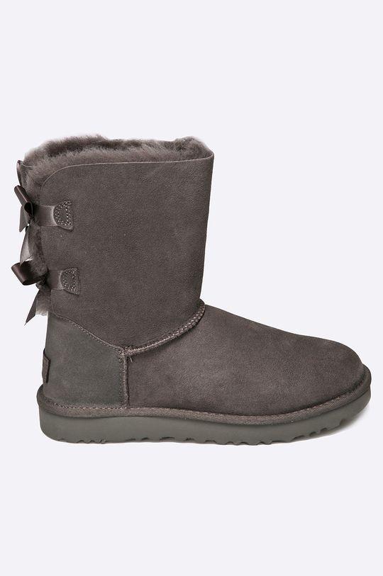 сив UGG - Обувки Bow GRY Жіночий