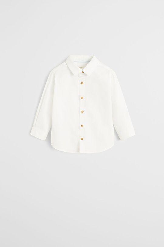 biela Mango Kids - Detská košeľa Oxford 80-104 cm Chlapčenský