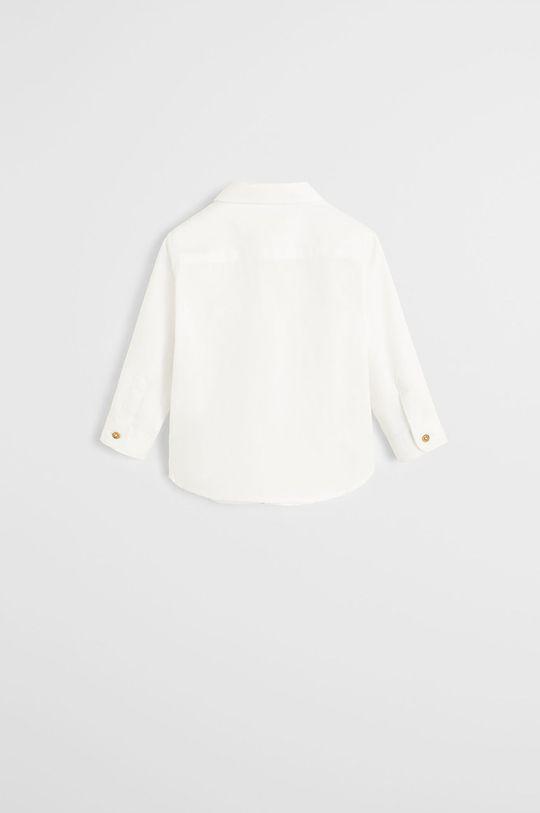 Mango Kids - Detská košeľa Oxford 80-104 cm biela