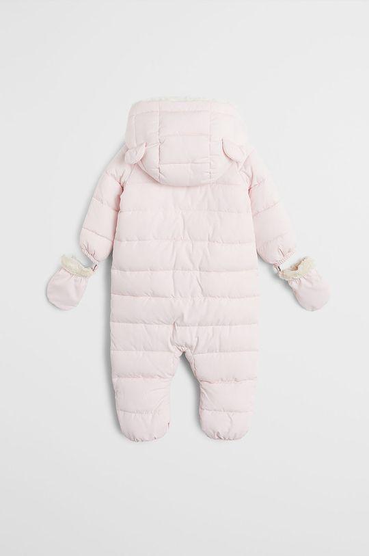 Mango Kids - Salopeta bebe Teddyl 62-80 cm roz