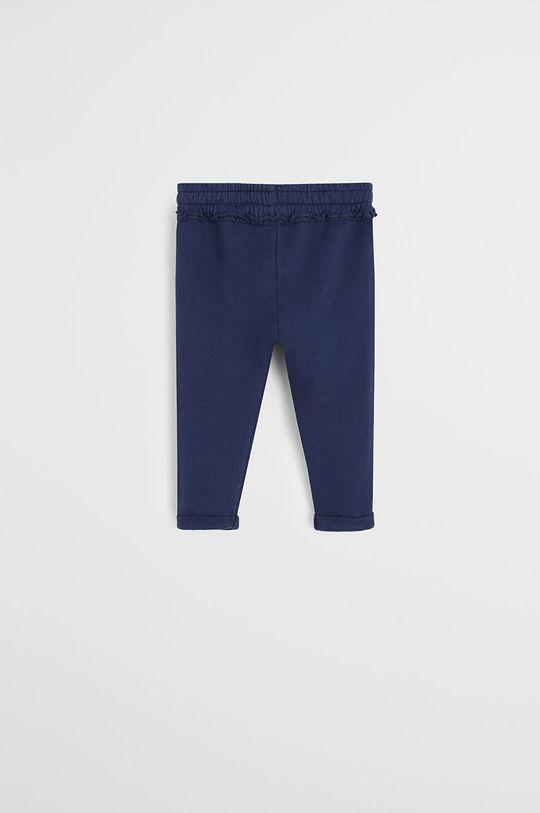 Mango Kids - Pantaloni copii Mirep 80-104 cm bleumarin