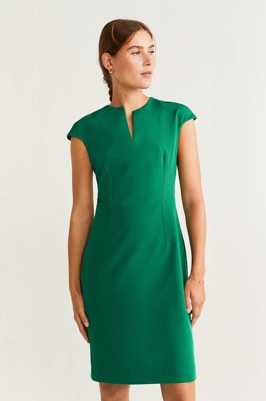 zelená Mango - Šaty Josu Dámsky