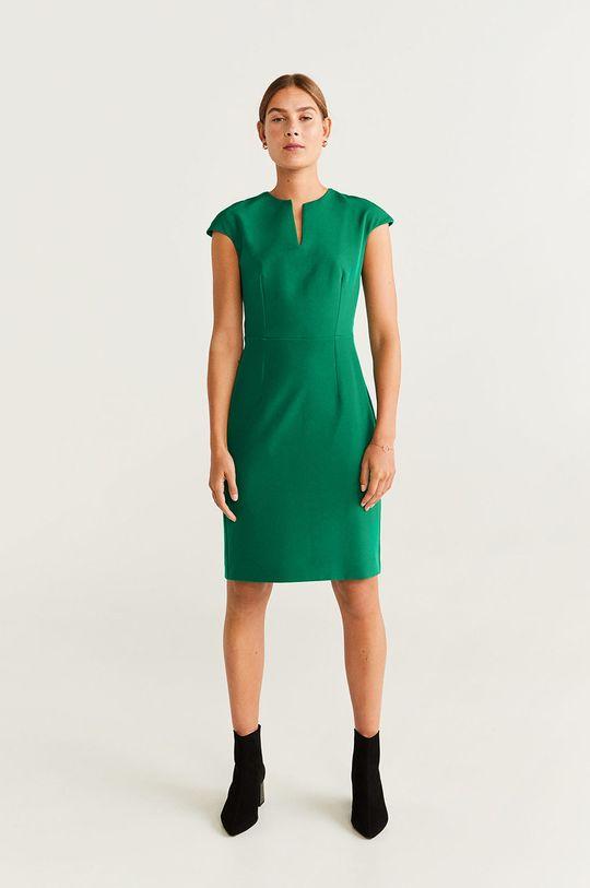 Mango - Šaty Josu zelená