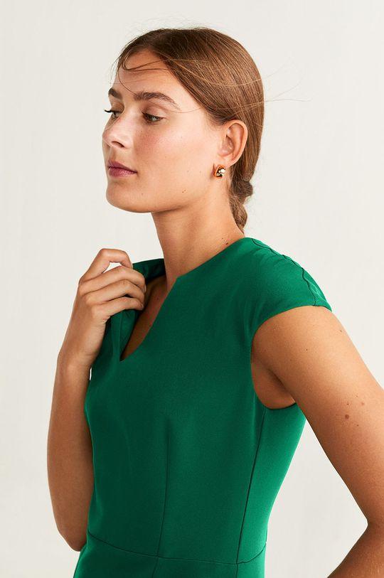 zelená Mango - Šaty Josu