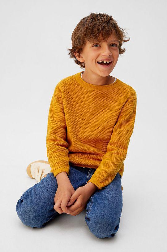 Mango Kids - Detský sveter Viti5 110-164 cm  100% Bavlna