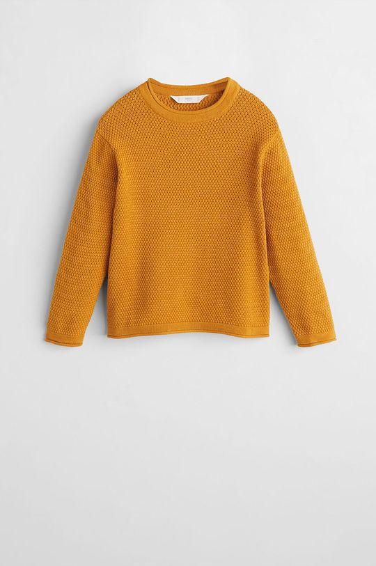 Mango Kids - Detský sveter Viti5 110-164 cm Chlapčenský