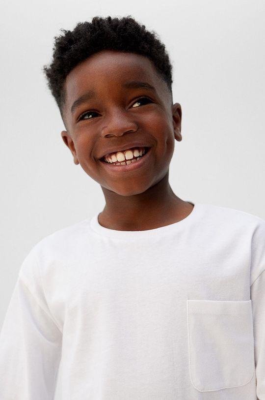 Mango Kids - Longsleeve copii Basic5 110-164 cm <p>100% Bumbac</p>