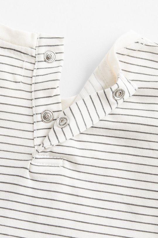 biela Mango Kids - Detské tričko s dlhým rukávom Today 80-104 cm