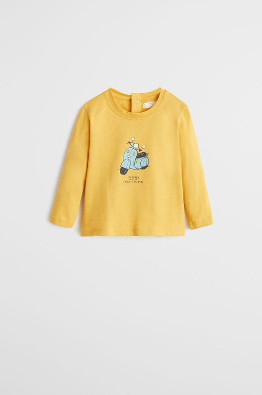 galben Mango Kids - Longsleeve copii Today 80-104 cm De băieți