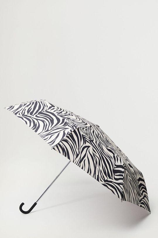 negru Mango - Umbrela Zebra De femei