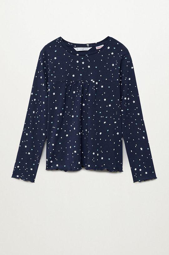 tmavomodrá Mango Kids - Detské pyžamo Galaxy 116-164 cm Dievčenský