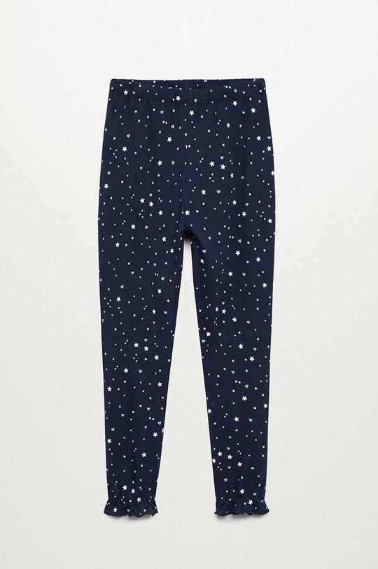 Mango Kids - Detské pyžamo Galaxy 116-164 cm tmavomodrá
