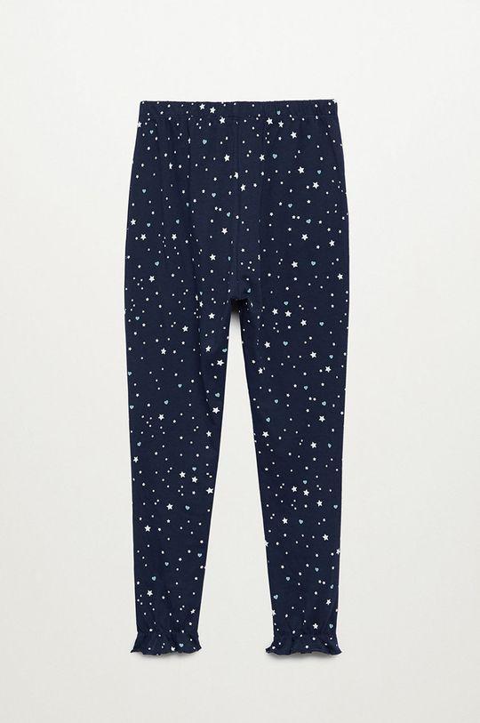 tmavomodrá Mango Kids - Detské pyžamo Galaxy 116-164 cm