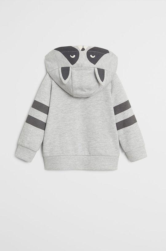 Mango Kids - Detská mikina Mapache 80-104 cm  96% Organická bavlna, 4% Polyester