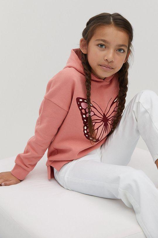 ružová Mango Kids - Detská mikina BONI