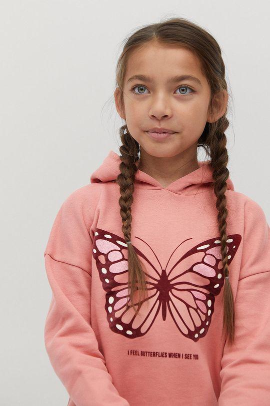 Mango Kids - Detská mikina BONI Dievčenský