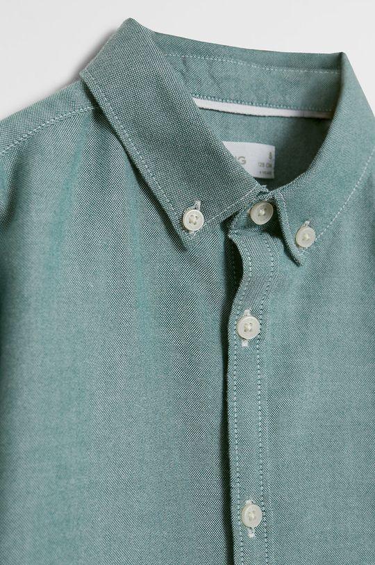 Mango Kids - Koszula dziecięca Oxford 110-164 cm 100 % Bawełna