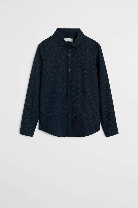 bleumarin Mango Kids - Camasa de bumbac pentru copii Damian 110-164 cm De băieți