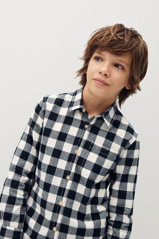 Mango Kids - Dětská košile WALD  100% Bavlna