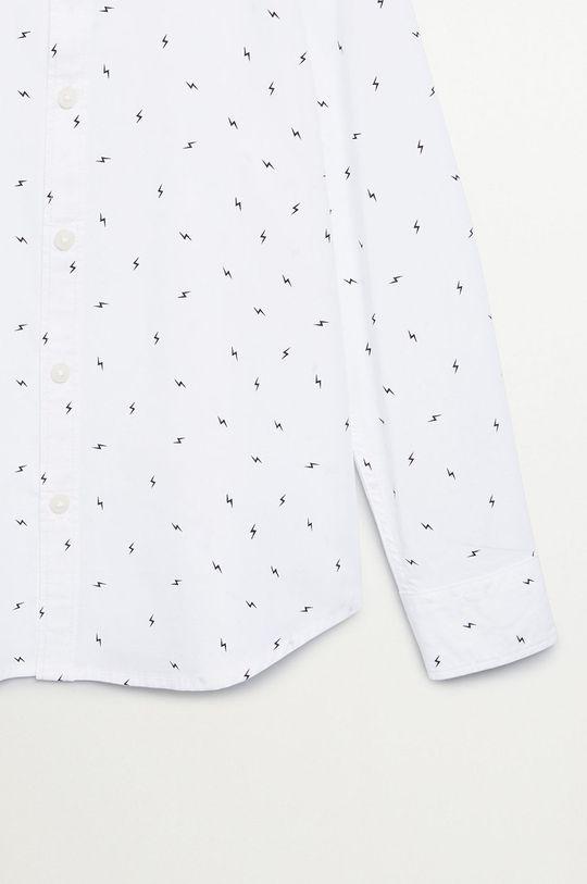 Mango Kids - Koszula dziecięca BOLT 100 % Bawełna