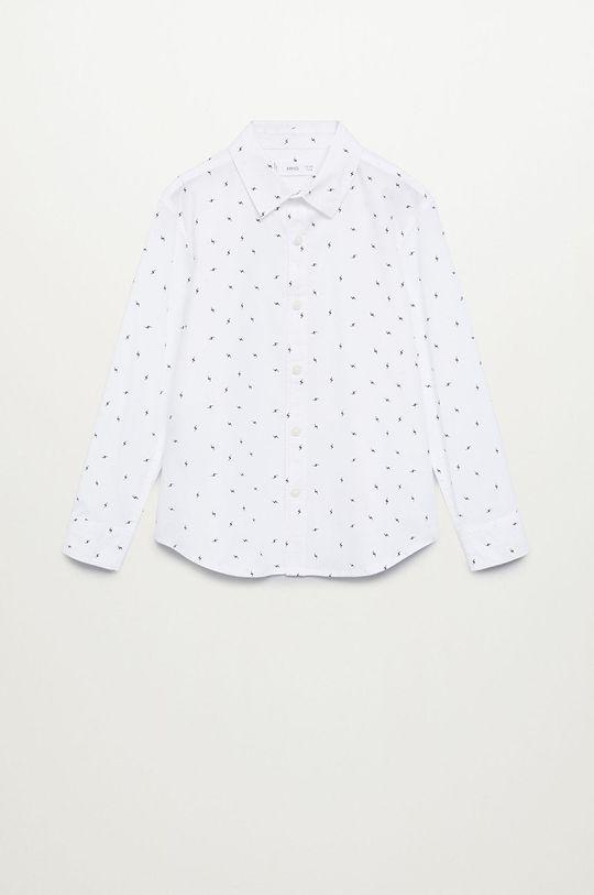 biały Mango Kids - Koszula dziecięca BOLT