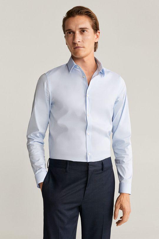 světle modrá Mango Man - Košile Emotion Pánský