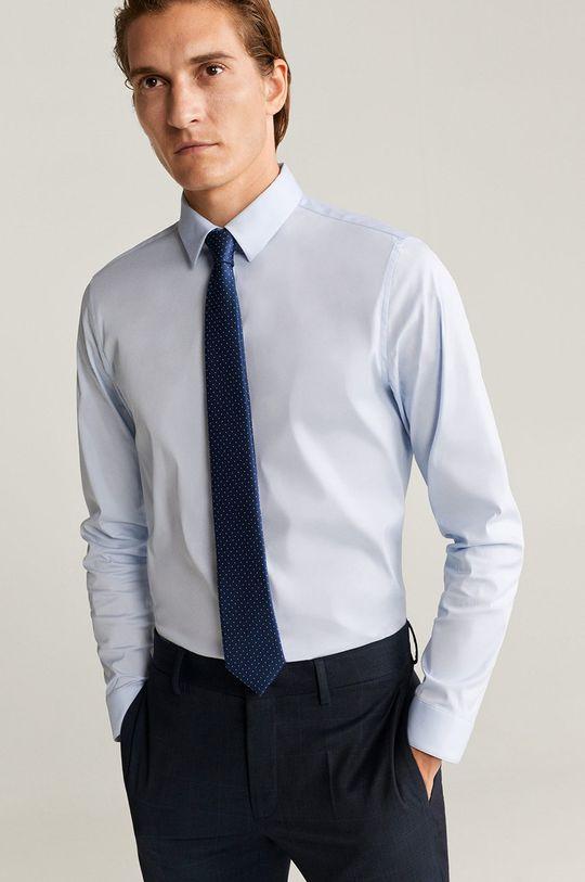 světle modrá Mango Man - Košile Emotion
