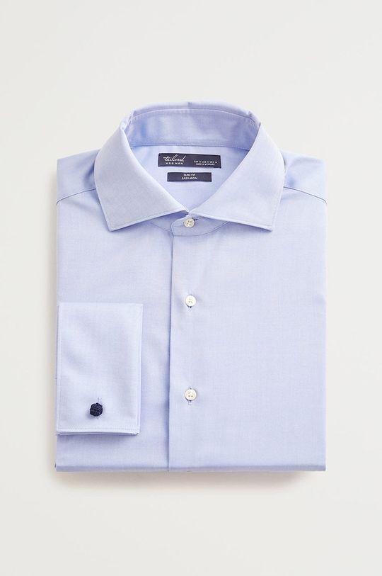 světle modrá Mango Man - Košile Masnou Pánský