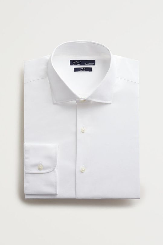 bílá Mango Man - Košile Emeritol Pánský
