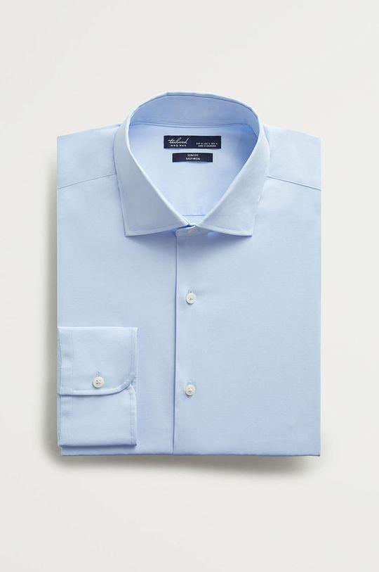světle modrá Mango Man - Košile Emeritol Pánský